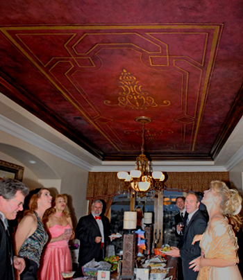 Tuscan flavored ceiling faux finish | John Hiemstra Creative
