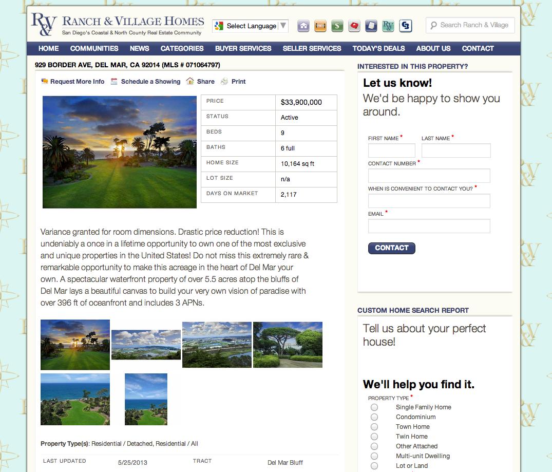 Ranch & Village Homes
