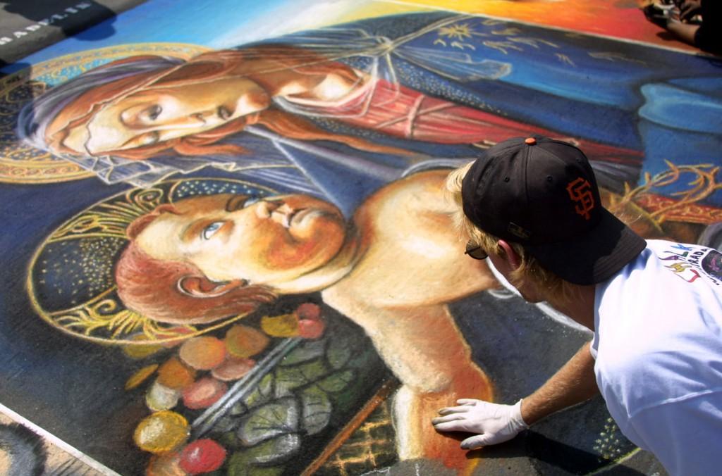 Chalk Painting – Botticelli