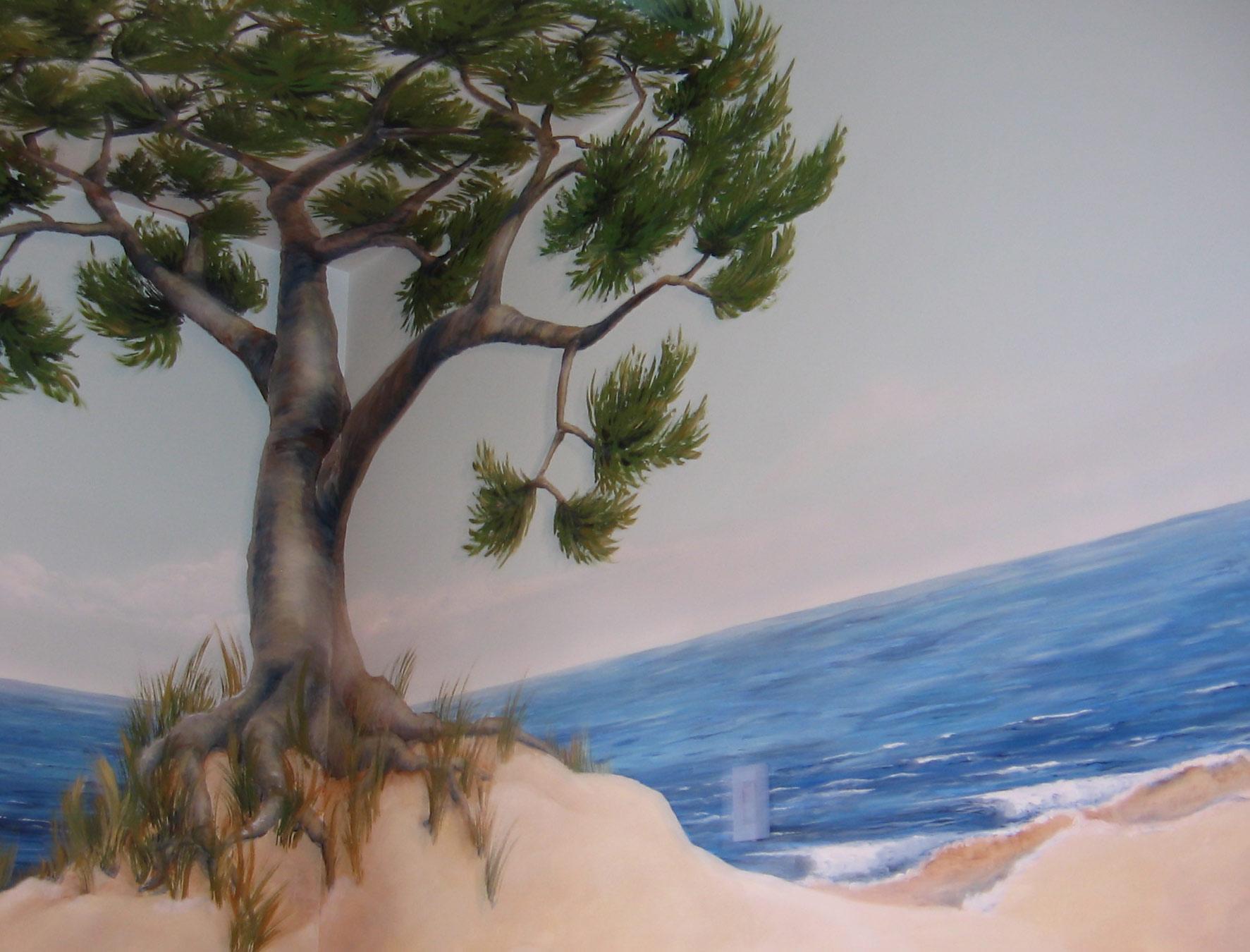 Children's Room Beach Mural